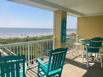 Photo for 3BR Oceanfront Condo; Heart Of IOP; Inquire About Specials and Additional Condos