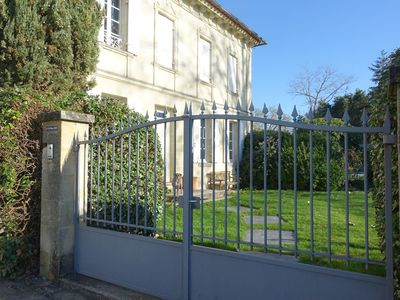 Photo for House and private pool in Saint Emilion in the heart of an organic wine estate