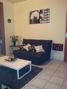 Photo for Cozy F2, very welcoming, can accommodate up to 4 people.