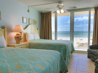 Photo for Beachfront Accommodations Directly Overlooking the Sand on Wonderful Treasure Island!