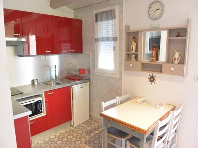 Photo for Charming apartment of 40m2 air-conditioned in Cap d'Agde