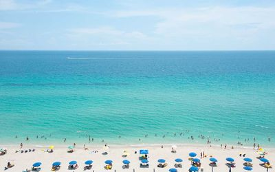 Photo for Beautiful Beach front Studio Condo Hotel - Monthly Rental Discount