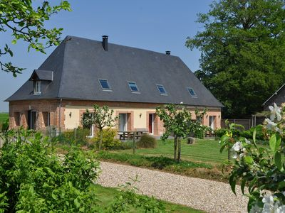 Photo for Quiet cottage, Rouen Dieppe, near the sea and forest, near our farm