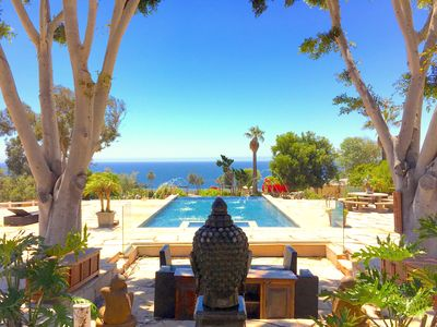 Photo for Six-Acre Ocean View Malibu Estate w/ Infinity Pool