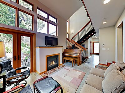 Photo for Charming Downtown Townhouse w/ Fireplace & Patio - Walk to Farmers'  Market