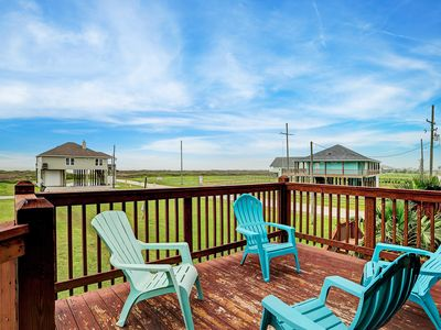 Photo for FAST beach access! Dog friendly! Great gulf views!