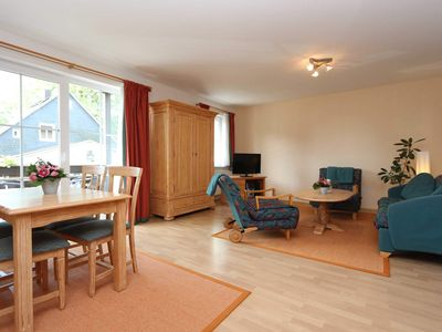 Photo for Holiday apartment 03, 1st floor, 2 bedrooms, Frauenwald - Apartments in the house Bergblick am Rennsteig
