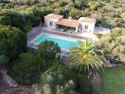 "Photo for Grande Villa like ""sheep"" with pool on 2 hectares of land in Cala Longa"