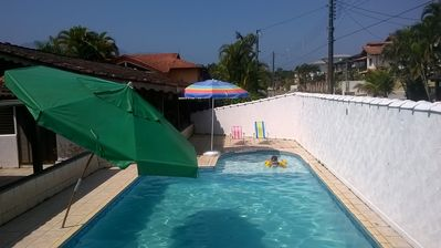 Photo for House in Morada da Praia - Chalet climate - 12 people