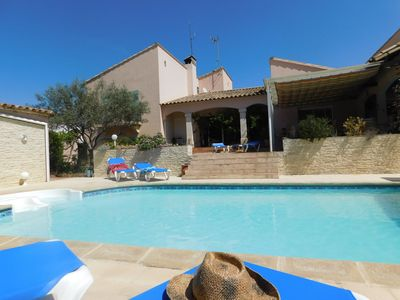 Photo for Gîte La Provence Bougainvillea Camargue, heated pool, 2 bedrooms