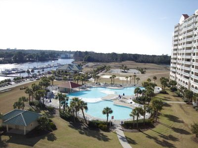 Photo for 1BR Beautifully Decorated Condo with Balcony in the Desirable Barefoot Resort at Yacht Club Villas!!