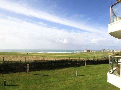 Photo for Surfs Up is a stunning 2 bedroom apartment over looking Fistral Beach