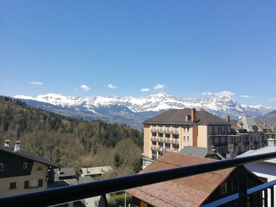 Photo for 2 bedrooms, 2 bathrooms, wifi, duplex with balcony and views of Aravis 73m2