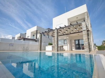 Photo for ANEMONI 9 - 4 BED WITH POOL CENTRAL PROTARAS