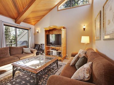 Photo for Rustic Home near Deschutes River w/ Private Deck, WiFi, Hot Tub & Sharc Passes
