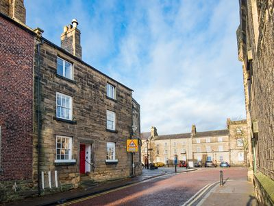 Photo for Castle Retreat, Visit England 4* Gold luxury apartment opposite Alnwick Castle