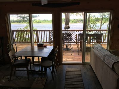 Photo for SUNSET VIEWS 3BD 2BA LAKEHOUSE just 30 MINUTES TO DELLS WIFI- SLEEPS 7