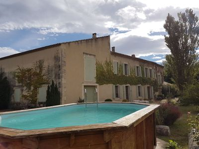 Photo for SPACIOUS HOUSE IN THOR AT THE EDGE OF SORGUE FOR 8 PEOPLE