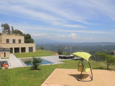 Photo for Large Contemporary Villa with Pool CANNES South of France