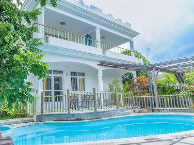 Photo for 3BR Villa Vacation Rental in Trou-aux-Biches, Pamplemousses District