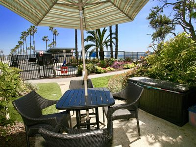 Photo for GORGEOUS Ocean & Pier View Ground Level Cottage, Fully Remodeled! Steps from the Sand! D5