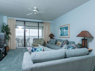 Photo for BEACH FRONT! Three Bedroom @ Pelican Pointe! Gulf Front Balcony! *7 Night SPECIALS!*