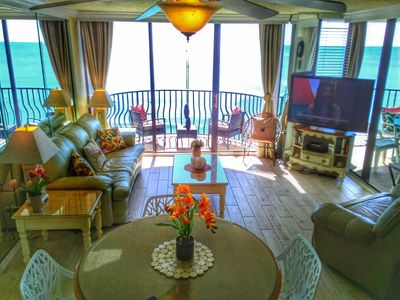 Photo for August Special!! Stunning Oceanfront, (2)Balconies, Family friendly,&Walkable