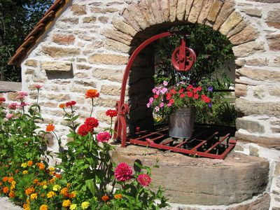"Photo for Between Tournus and Cluny, the charm of Southern Burgundy, rural cottage ""ViniCella"""