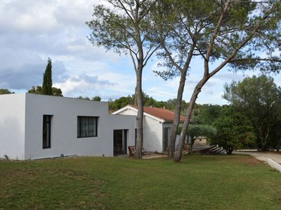 Photo for Renovated villa with great calm 6 people Nîmes Golf de vacquerolles