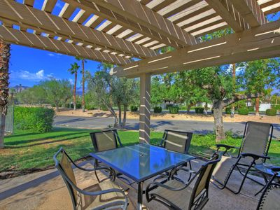 Photo for Great location, with pool off the patio, and short walk to tennis courts