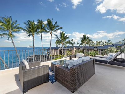 Photo for Ocean View Condo w/ Large Private Lanai, AC, WiFi, Shared Pool and Hot Tub- Perfect for Couples