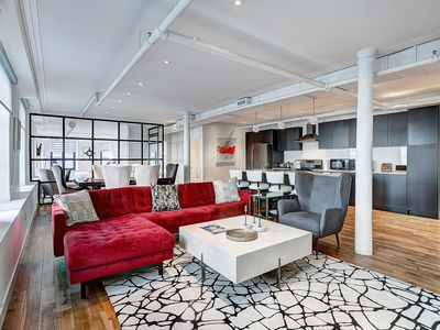 2650sqft 3 bedrooms 2 bath HEART of Old Montreal On Saint Sulpice and Saint PAUL