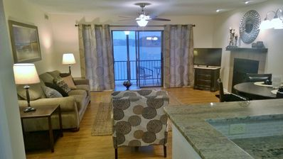 Photo for Newly Updated 2 BR/2 Bath Condo on Beautiful Lake Hamilton with boat dock