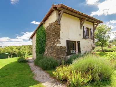 Photo for Stylish Cottage in Savignac-Lédrier with Terrace