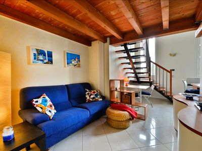 Photo for Charming loft style apt in Bologna