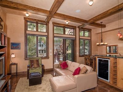 Photo for Contemporary & Stylish Condo Right on Telluride`s Main Street with Big Mountain Views