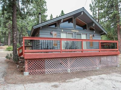 Photo for TREES! 2 bed, 1 bath close to HIKING, Lake, Village
