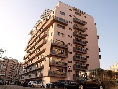 Photo for Entire apartment with 1 bedroom, bathroom, kitchen and balcony located close to the centre.