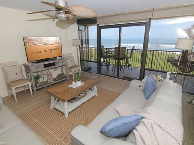 Photo for Sea Glass Resort, Recently Renovated and Updated 3/2, Direct Oceanfront, No-Drive Beach