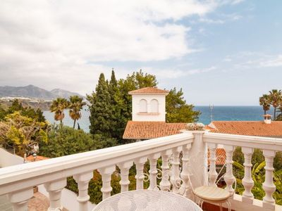 Photo for 2 bedroom Apartment, sleeps 3 with Pool, Air Con, WiFi and Walk to Beach & Shops