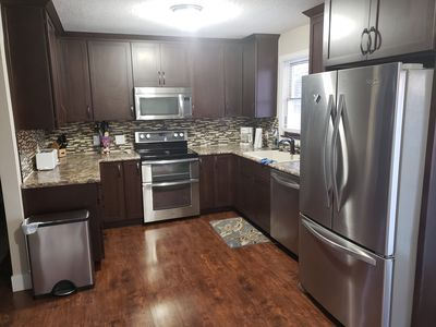 Photo for Charming 4 bedroom 2 bath Centrally located (sleeps 8-9)