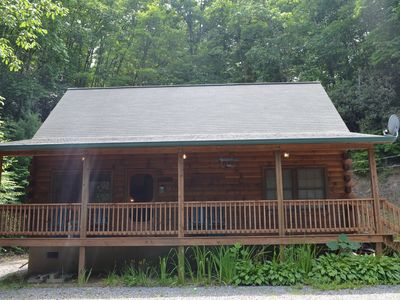 Photo for Custom Log Cabin: Nestled in the heart of the Smoky Mountains.
