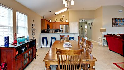 Photo for 420CW; Beautiful 3 Bedroom 2 Bath Sleeps 10 home with open floor plan