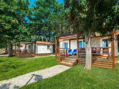 Photo for Nice chalet with 2 bathrooms and a dishwasher 15km from Pula