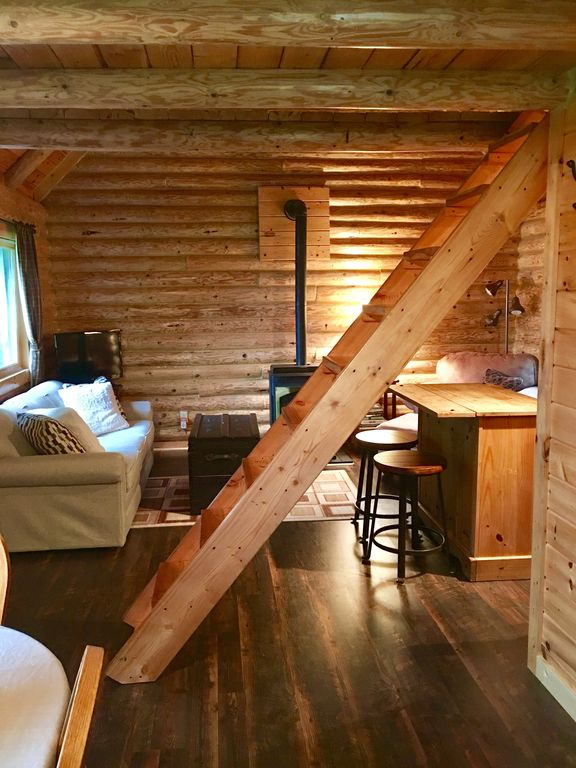 Log Cabin Rental Quiet Peaceful Lakefront With Great