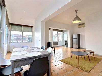 Photo for Apartment for 6 people 100m from the beach in a quiet area