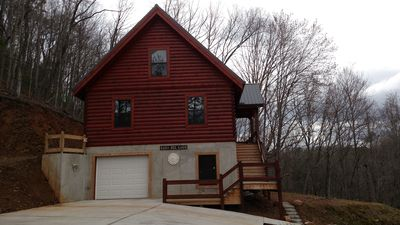Photo for Beautiful New Log Home
