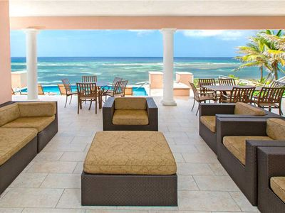 Photo for Coral Kai: Rum Point Villa on Sandy Shores with Fabulous Backyard Snorkeling