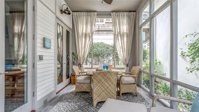 Screened In Porch - Furnished with Dining for Four