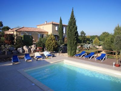 Photo for PROMOTION 11% UNTIL 6 JULY - Gîte 6 pers.  Anduze